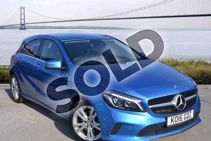 Picture of Mercedes-Benz A Class A200d Sport Premium 5dr Auto in South Seas Blue