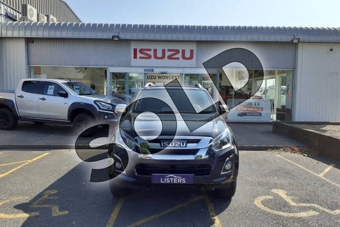 Image two of this 2020 Isuzu D-MAX Diesel 1.9 Utah Double Cab 4x4 in Black at Listers Isuzu Worcester