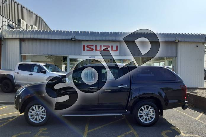 Image five of this 2020 Isuzu D-MAX Diesel 1.9 Utah Double Cab 4x4 in Black at Listers Isuzu Worcester