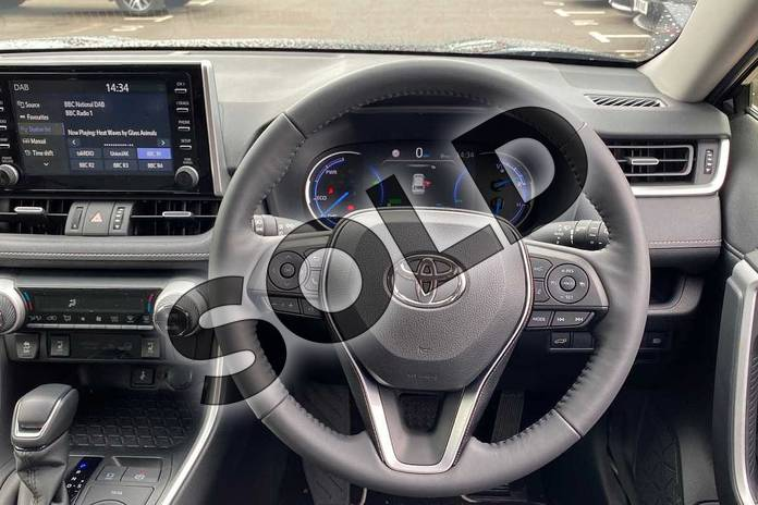 Image six of this 2020 Toyota RAV4 Estate 2.5 VVT-i Hybrid Excel 5dr CVT in Black at Listers Toyota Coventry