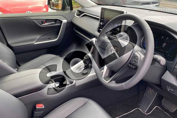Image eleven of this 2020 Toyota RAV4 Estate 2.5 VVT-i Hybrid Excel 5dr CVT in Black at Listers Toyota Coventry