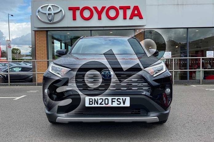 Image fifteen of this 2020 Toyota RAV4 Estate 2.5 VVT-i Hybrid Excel 5dr CVT in Black at Listers Toyota Coventry
