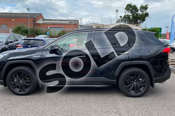 Image seventeen of this 2020 Toyota RAV4 Estate 2.5 VVT-i Hybrid Excel 5dr CVT in Black at Listers Toyota Coventry