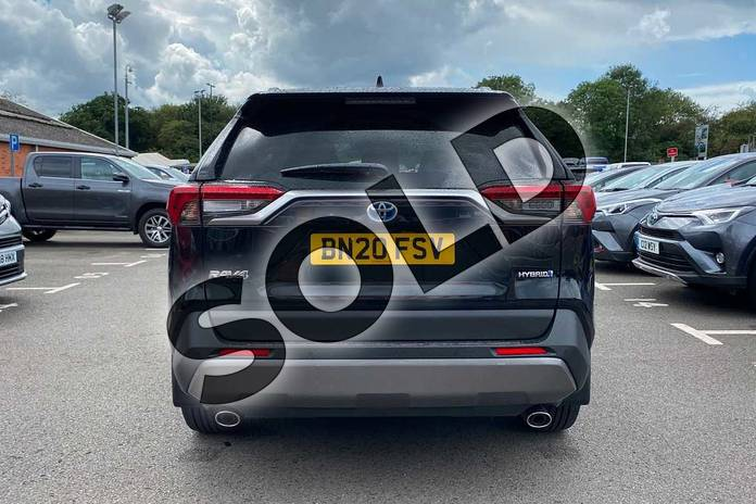 Image nineteen of this 2020 Toyota RAV4 Estate 2.5 VVT-i Hybrid Excel 5dr CVT in Black at Listers Toyota Coventry