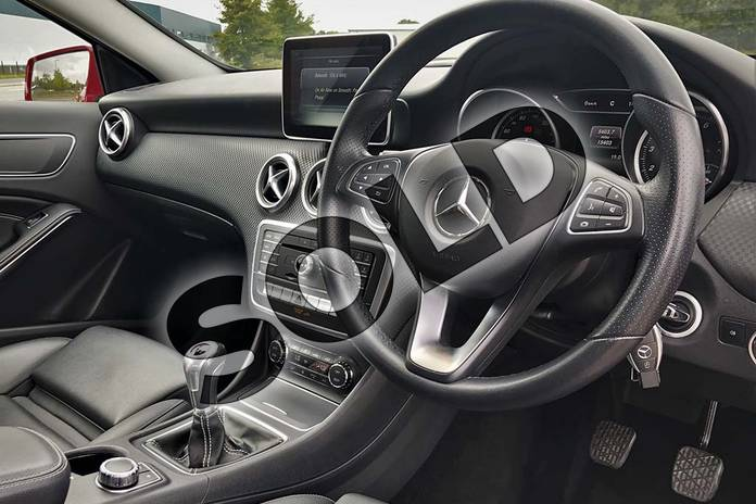 Image eleven of this 2017 Mercedes-Benz A Class Hatchback A180 Sport 5dr in Jupiter Red at Mercedes-Benz of Lincoln