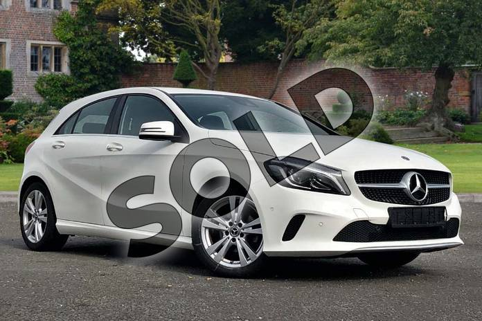 Picture of Mercedes-Benz A Class A180d Sport Premium 5dr in Cirrus White