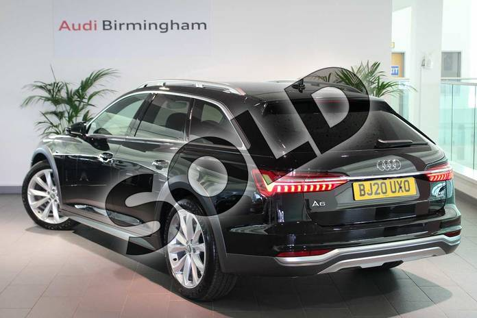 Image three of this 2020 Audi A6 Allroad Diesel Estate 45 TDI Quattro Sport 5dr Tip Auto (Tech) in Myth Black Metallic at Birmingham Audi