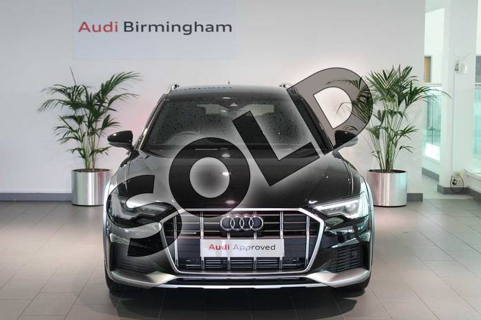 Image six of this 2020 Audi A6 Allroad Diesel Estate 45 TDI Quattro Sport 5dr Tip Auto (Tech) in Myth Black Metallic at Birmingham Audi