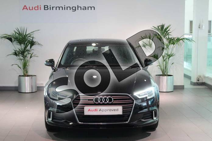 Image seven of this 2017 Audi A3 Diesel Saloon 2.0 TDI 184 Quattro Sport 4dr S Tronic in Brilliant Black at Birmingham Audi