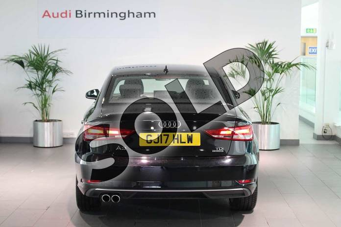 Image fourteen of this 2017 Audi A3 Diesel Saloon 2.0 TDI 184 Quattro Sport 4dr S Tronic in Brilliant Black at Birmingham Audi