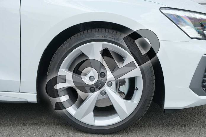 Image five of this 2020 Audi A3 Saloon 35 TFSI S line 4dr in Glacier White Metallic at Coventry Audi
