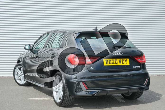 Image three of this 2020 Audi A1 Sportback 30 TFSI S Line 5dr in Myth Black Metallic at Coventry Audi