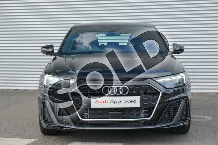 Image seven of this 2020 Audi A1 Sportback 30 TFSI S Line 5dr in Myth Black Metallic at Coventry Audi