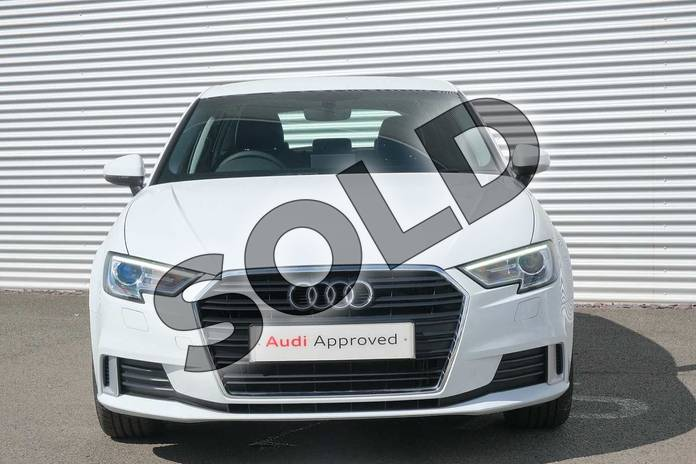 Image seven of this 2020 Audi A3 Sportback 40 TFSI Sport 5dr S Tronic in Glacier White Metallic at Coventry Audi