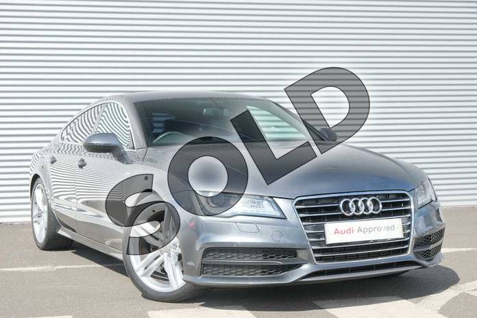 Picture of Audi A7 3.0 TDI S Line 5dr Multitronic in Daytona Grey, pearl effect