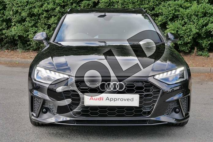 Image seven of this 2020 Audi A4 Diesel Avant 40 TDI Quattro Black Edition 5dr S Tronic in Myth Black Metallic at Worcester Audi