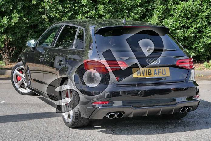 Image three of this 2018 Audi A3 Sportback Special Editions S3 TFSI Quattro Black Edition 5dr S Tronic in Myth Black Metallic at Worcester Audi