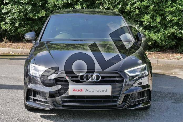 Image seven of this 2018 Audi A3 Sportback Special Editions S3 TFSI Quattro Black Edition 5dr S Tronic in Myth Black Metallic at Worcester Audi