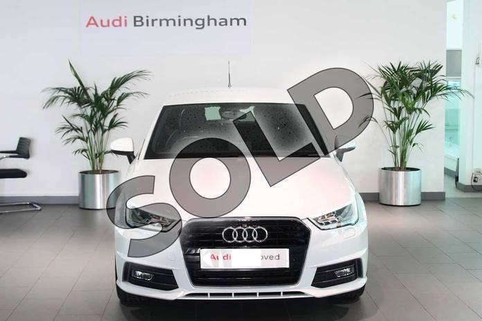 Image seven of this 2017 Audi A1 Sportback 1.4 TFSI S Line 5dr in Glacier White Metallic at Birmingham Audi