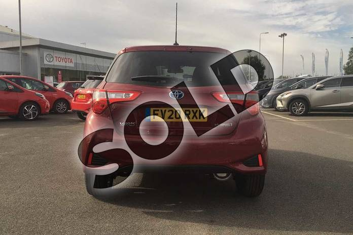 Image nineteen of this 2020 Toyota Yaris Hatchback 1.5 Hybrid Y20 5dr CVT (Bi-tone) in Tokyo Red at Listers Toyota Lincoln