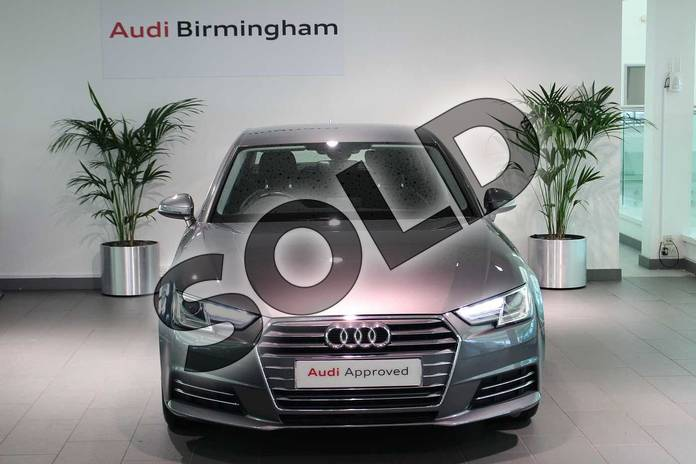 Image seven of this 2017 Audi A4 Diesel Saloon 2.0 TDI Ultra 190 Sport 4dr in Monsoon Grey Metallic at Birmingham Audi