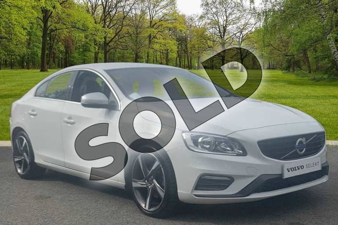 Picture of Volvo S60 D2 (120) R DESIGN 4dr in Ice White