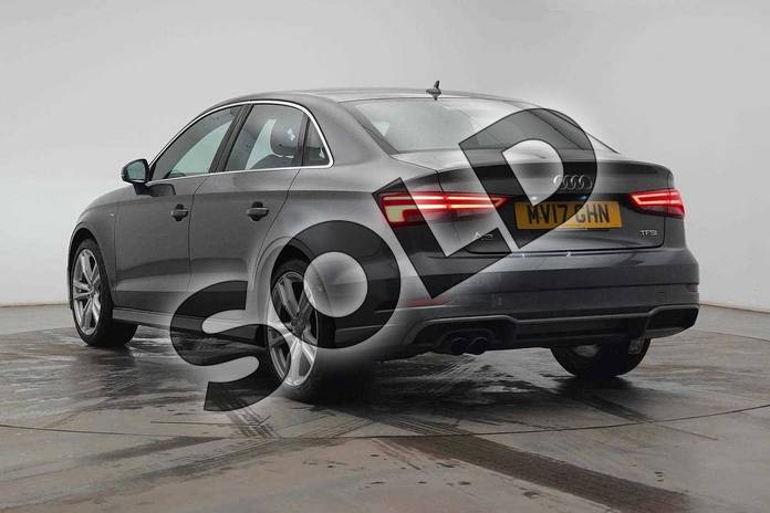 Image three of this 2017 Audi A3 Saloon 1.4 TFSI S Line 4dr in Daytona Grey Pearlescent at Birmingham Audi