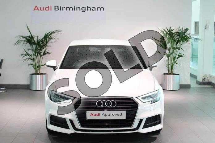 Image seven of this 2016 Audi A3 Diesel Saloon 1.6 TDI S Line 4dr in Ibis White at Birmingham Audi