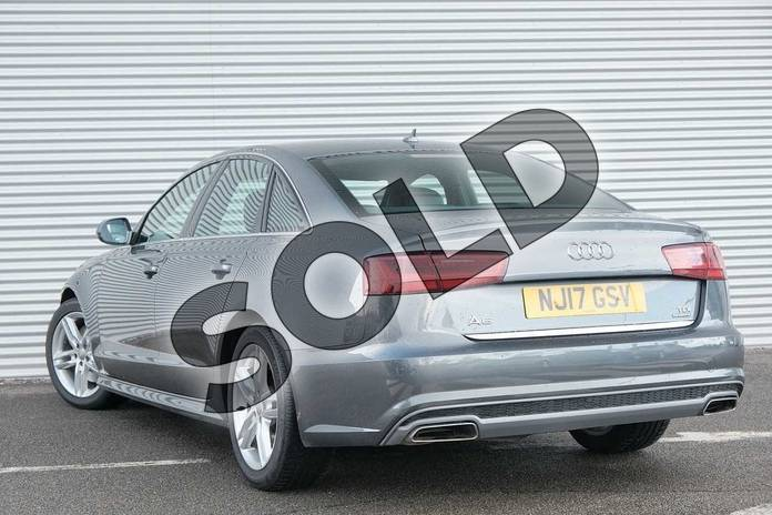 Image three of this 2017 Audi A6 Diesel Saloon 3.0 TDI (272) Quattro S Line 4dr S Tronic in Daytona Grey Pearlescent at Coventry Audi