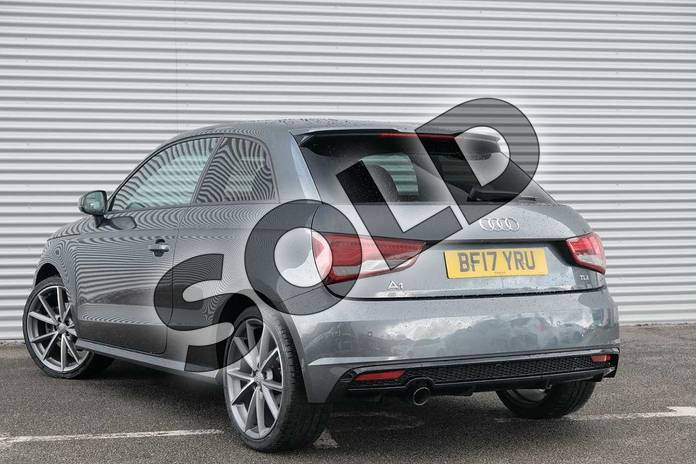 Image three of this 2017 Audi A1 Hatchback Special Editions 1.6 TDI Black Edition 3dr in Daytona Grey Pearlescent at Coventry Audi