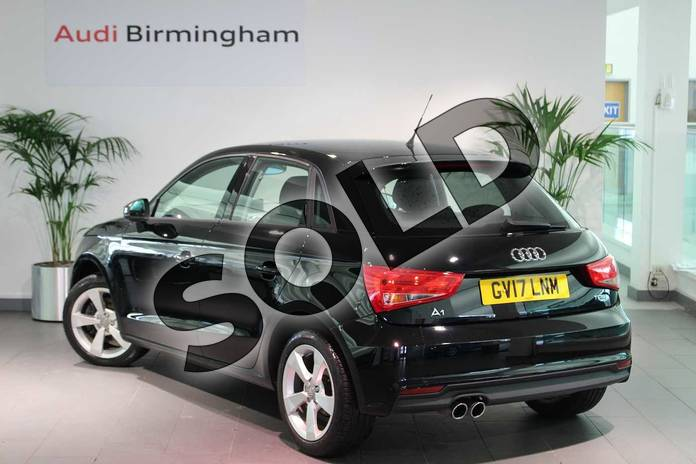 Image three of this 2017 Audi A1 Sportback 1.4 TFSI Sport 5dr in Brilliant Black at Birmingham Audi
