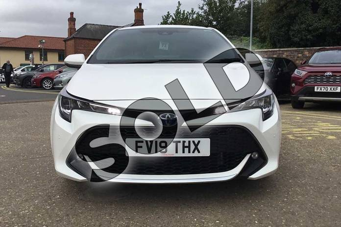 Image fifteen of this 2019 Toyota Corolla Hatchback 1.8 VVT-i Hybrid Design 5dr CVT in White at Listers Toyota Boston