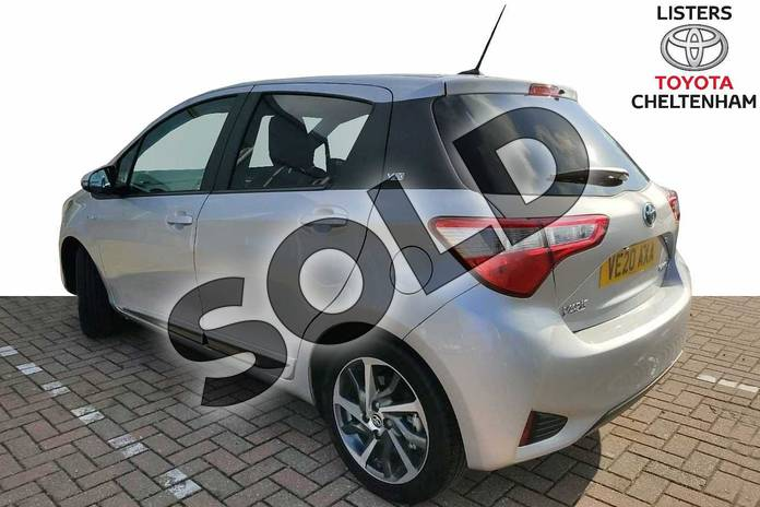 Image four of this 2020 Toyota Yaris Hatchback 1.5 Hybrid Y20 5dr CVT (Bi-tone) in Silver at Listers Toyota Cheltenham