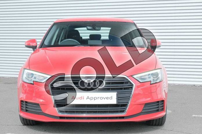 Image seven of this 2017 Audi A3 Diesel Sportback 1.6 TDI SE Technik 5dr S Tronic in Tango Red Metallic at Coventry Audi