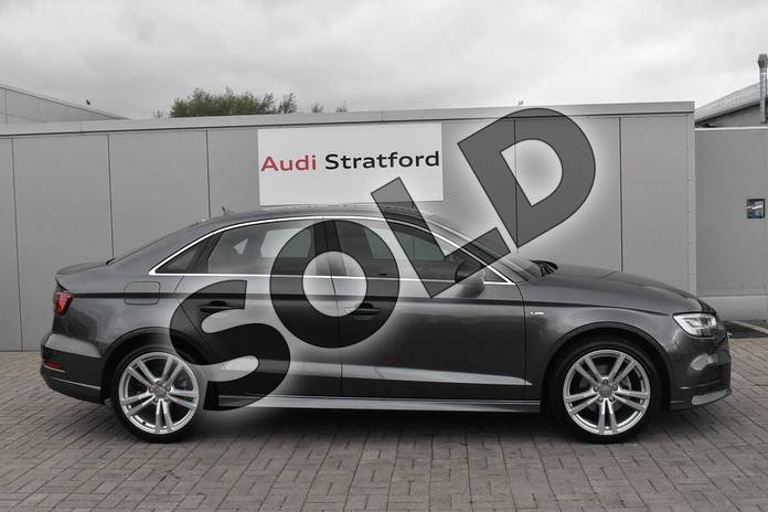 Image four of this 2016 Audi A3 Saloon 1.4 TFSI S Line 4dr in Daytona Grey Pearlescent at Stratford Audi
