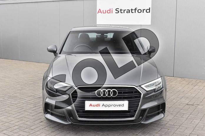 Image seven of this 2016 Audi A3 Saloon 1.4 TFSI S Line 4dr in Daytona Grey Pearlescent at Stratford Audi