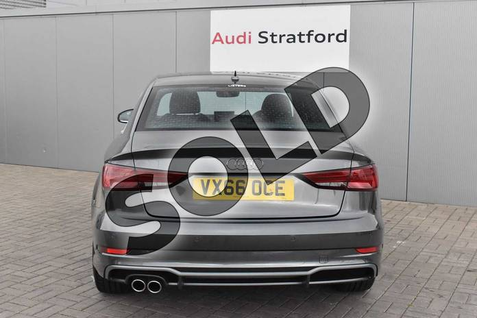 Image nine of this 2016 Audi A3 Saloon 1.4 TFSI S Line 4dr in Daytona Grey Pearlescent at Stratford Audi