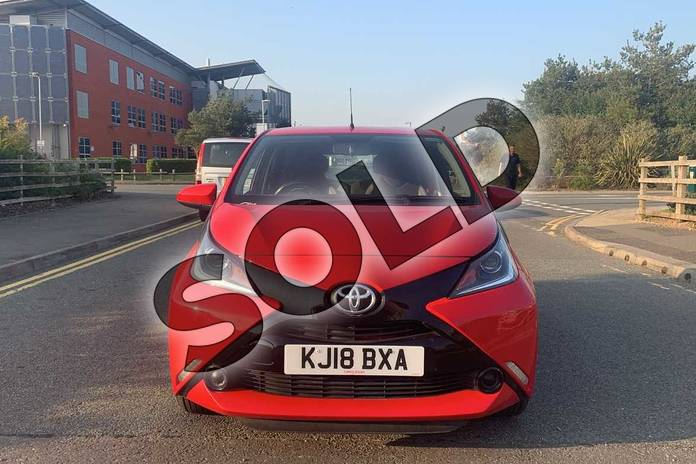 Image fifteen of this 2018 Toyota AYGO Hatchback 1.0 VVT-i X-Play 5dr in Red at Listers Toyota Nuneaton