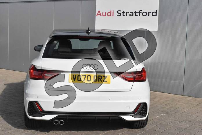 Image nineteen of this 2020 Audi A1 Sportback 40 TFSI S Line Competition 5dr S Tronic in Glacier White Metallic at Stratford Audi