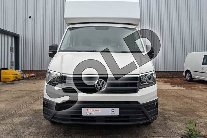 Image four of this 2020 Volkswagen Crafter CR35 LWB Diesel 2.0 TDI 177PS Startline Double Cab Chassis in Candy White at Listers Volkswagen Van Centre Worcestershire