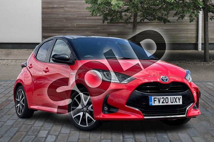 Picture of Toyota Yaris 1.5 Hybrid Launch Edition 5dr CVT in Tokyo fusion bi-tone