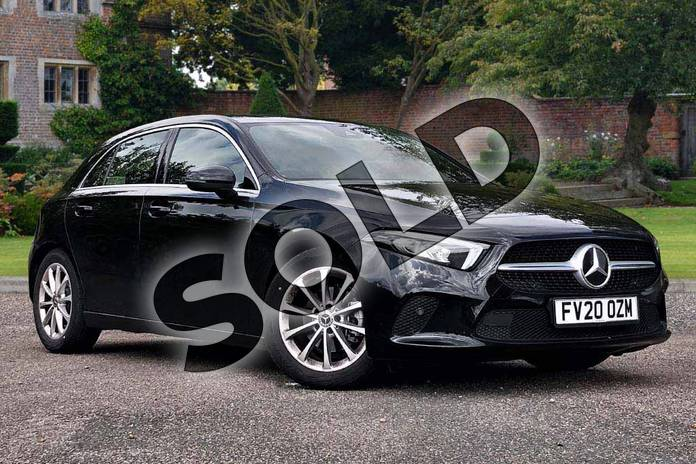 Picture of Mercedes-Benz A Class A180 Sport Executive 5dr Auto in Cosmos Black Metallic