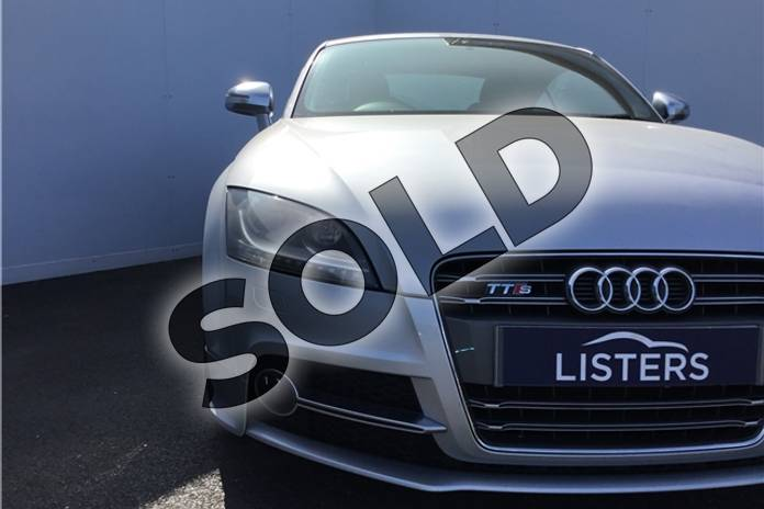 Image twelve of this 2012 Audi TT Coupe 2.0T FSI Quattro TTS 2dr S Tronic (2011) in Metallic - Ice silver at Listers U Solihull