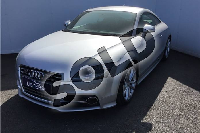 Image six of this 2012 Audi TT Coupe 2.0T FSI Quattro TTS 2dr S Tronic (2011) in Metallic - Ice silver at Listers U Solihull