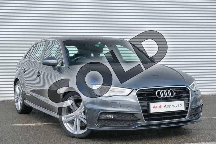 Picture of Audi A3 1.8 TFSI S Line 5dr in Daytona Grey, pearl effect