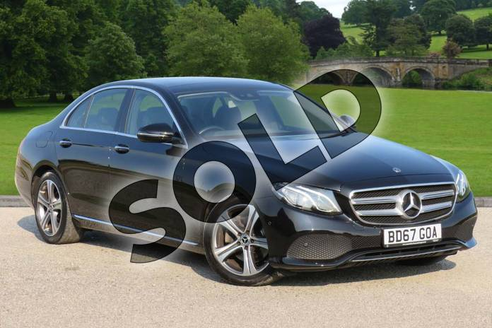 Picture of Mercedes-Benz E Class E220d SE Premium 4dr 9G-Tronic in Obsidian Black Metallic