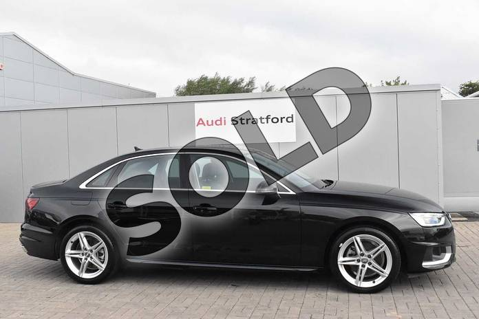 Image four of this 2020 Audi A4 Saloon 35 TFSI Sport 4dr S Tronic in Myth Black Metallic at Stratford Audi