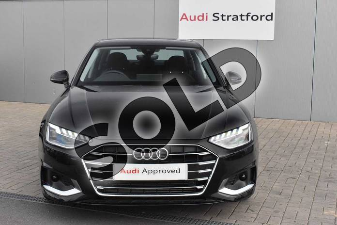 Image seven of this 2020 Audi A4 Saloon 35 TFSI Sport 4dr S Tronic in Myth Black Metallic at Stratford Audi
