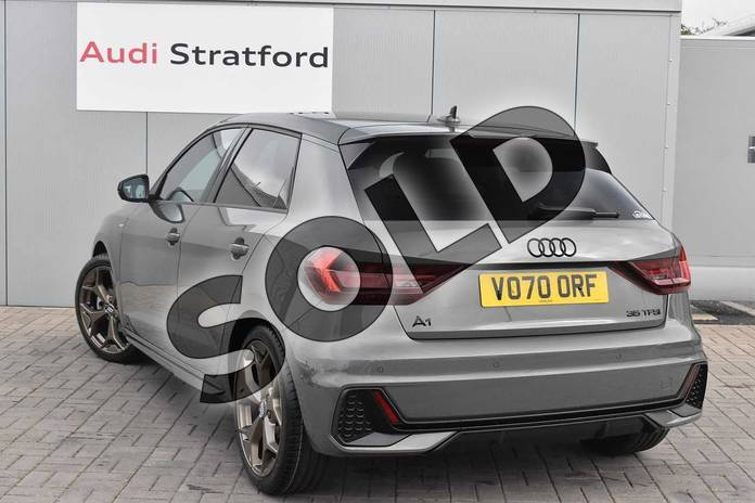 Image three of this 2020 Audi A1 Sportback Special Editions 35 TFSI S Line Style Edition 5dr S Tronic in Chronos Grey Metallic at Stratford Audi