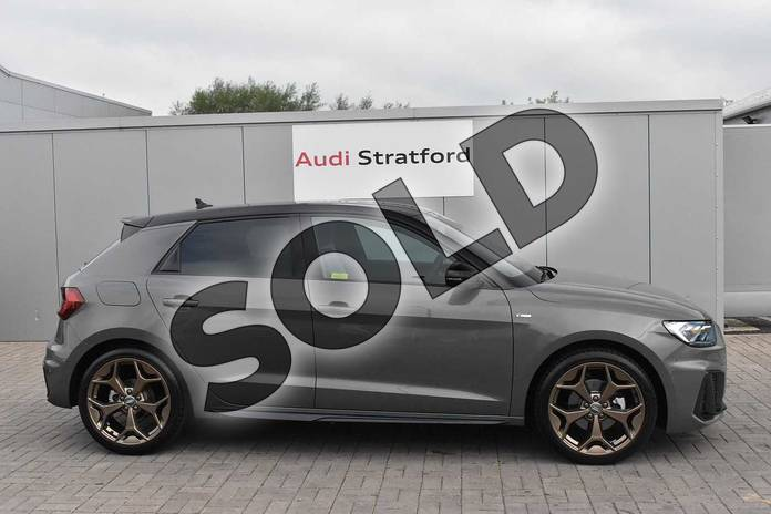 Image four of this 2020 Audi A1 Sportback Special Editions 35 TFSI S Line Style Edition 5dr S Tronic in Chronos Grey Metallic at Stratford Audi